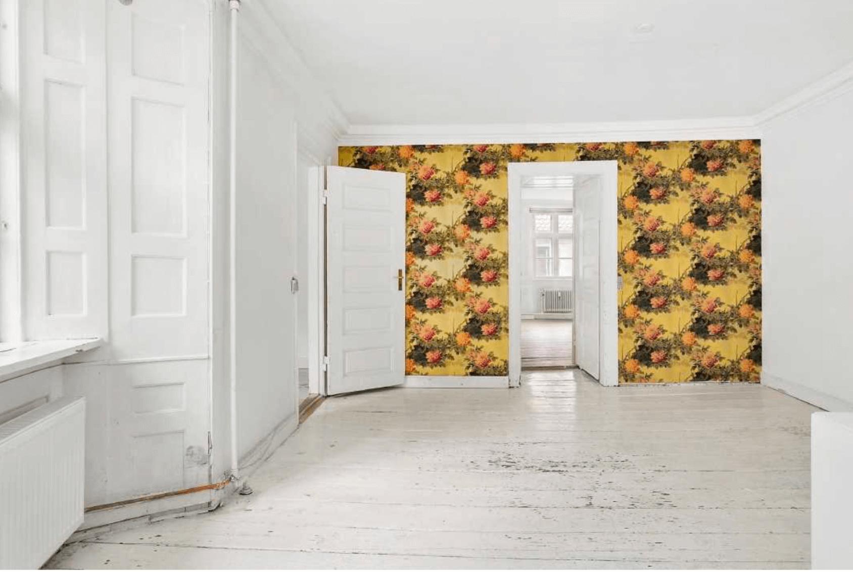 renovering af fredet ejendom Fiolstræde køkkenalrum før