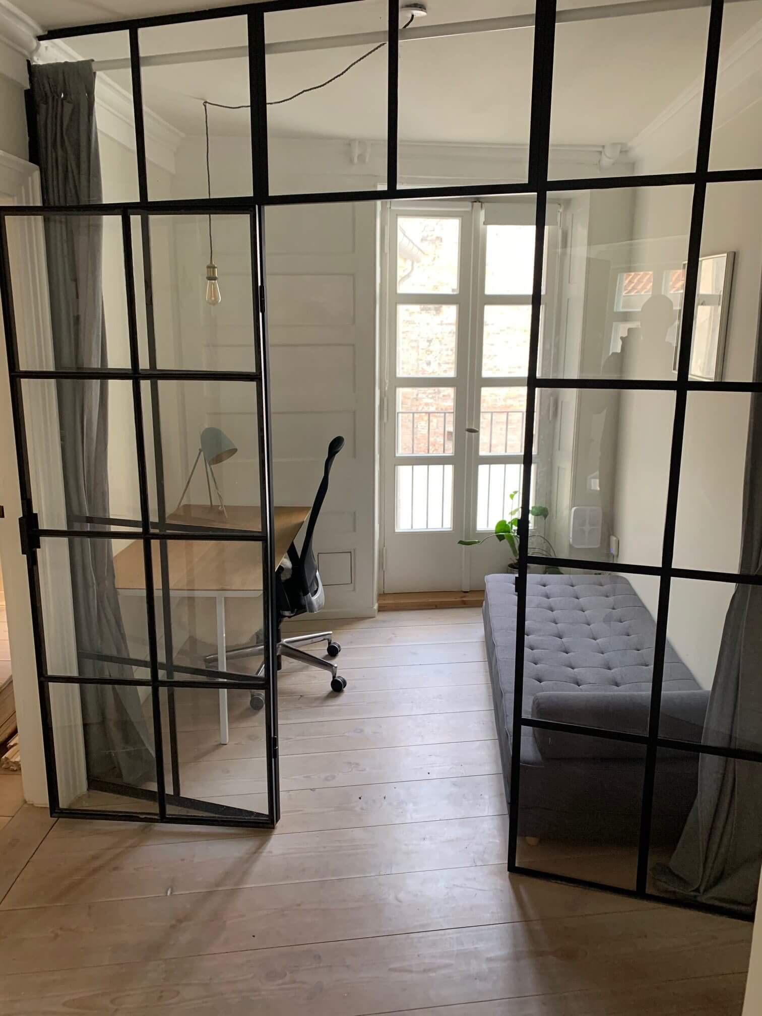renovering af fredet ejendom Fiolstræde kontor efter