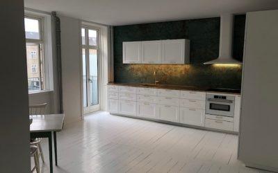 Nyt Ikea køkken.