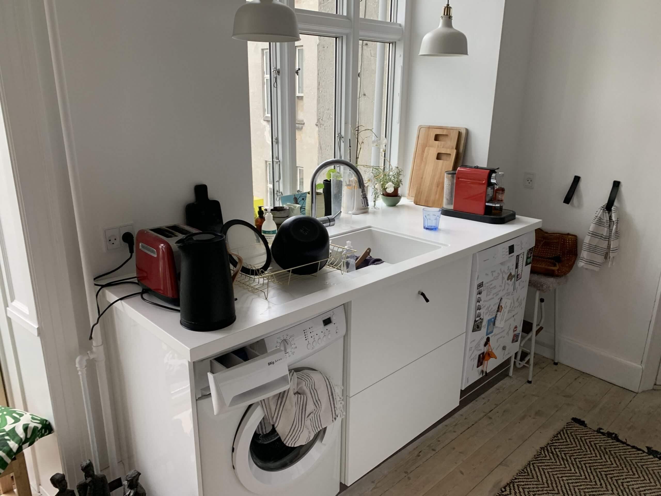 Retrofliser i køkken